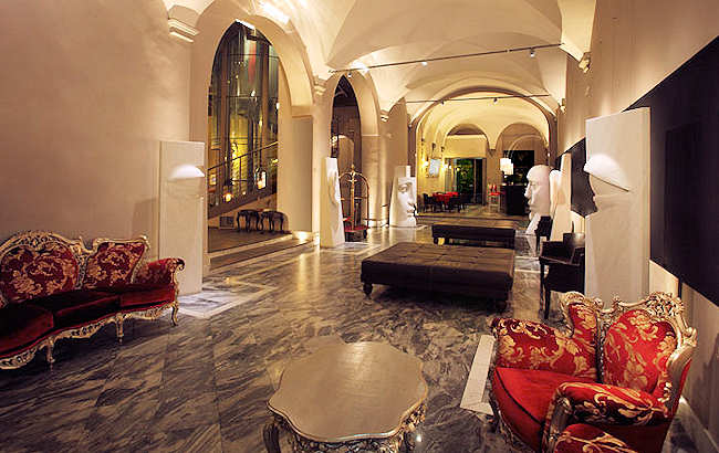 Borghese palace art hotel florence hotels italy for Hotel design florence italie